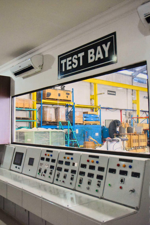 Test Bay Room